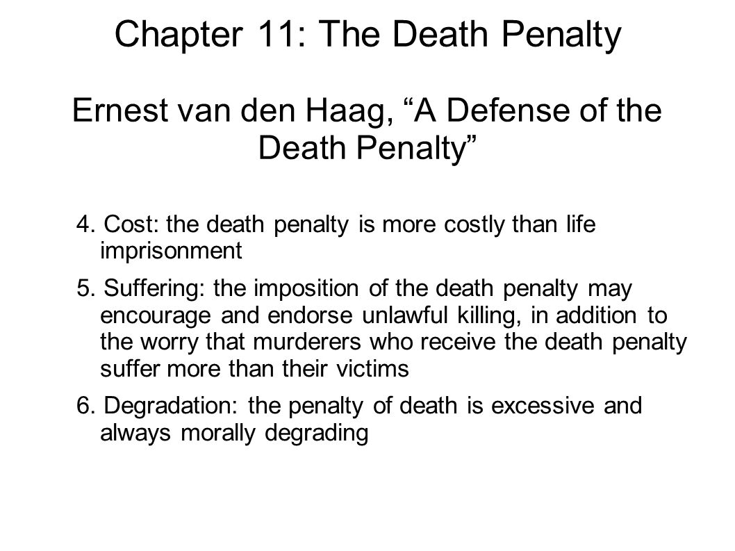 capital punishment costs of the death Death penalty pros and cons pros one of the most common justifications for the death penalty in the western world is that it acts as a deterrent of capital crimes , as the fear of death and the horror of the execution might prevent people from committing serious crimes.