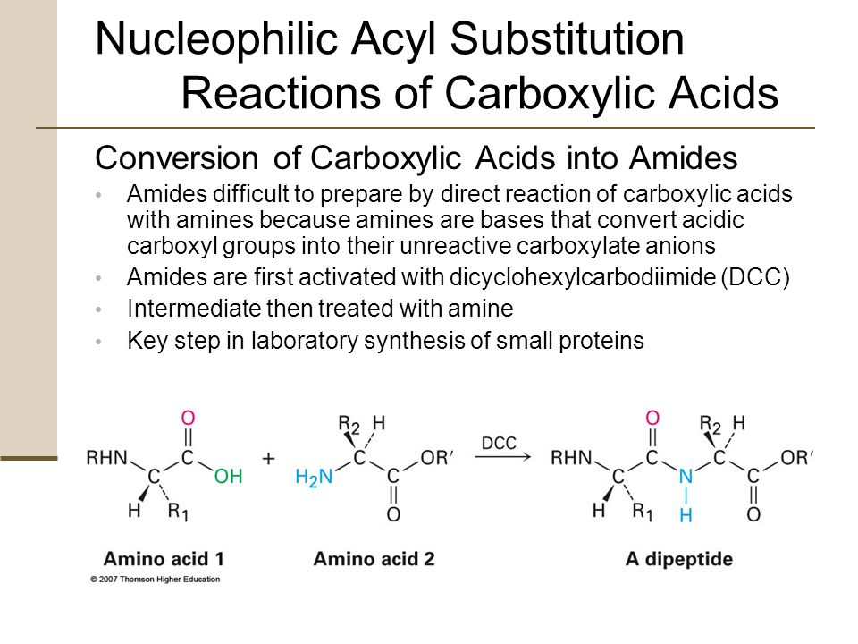 Reactions of carboxylic acids and their derivatives lab report