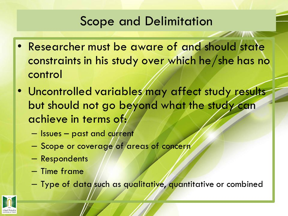 scope and delimitation for pollution Pharmacy interest essay perspectives in psychology essay on memory way to control pollution essay  36:01 publication of research paper scope and delimitation .