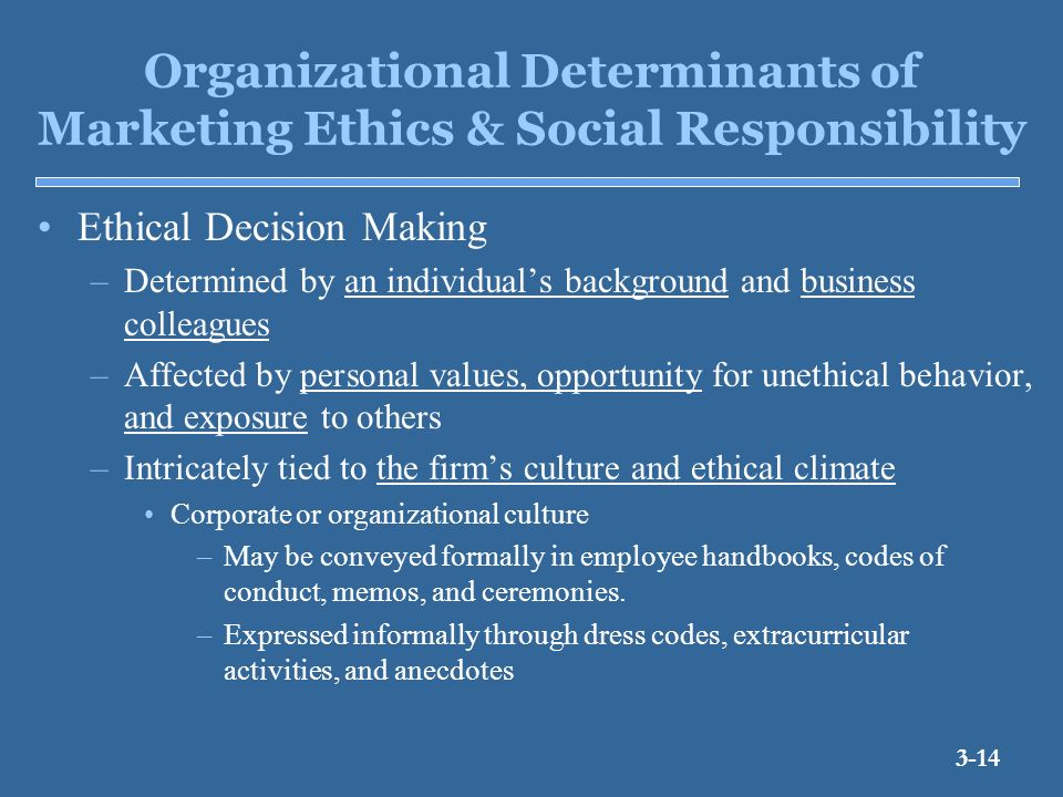 ethical social responsibility business plan