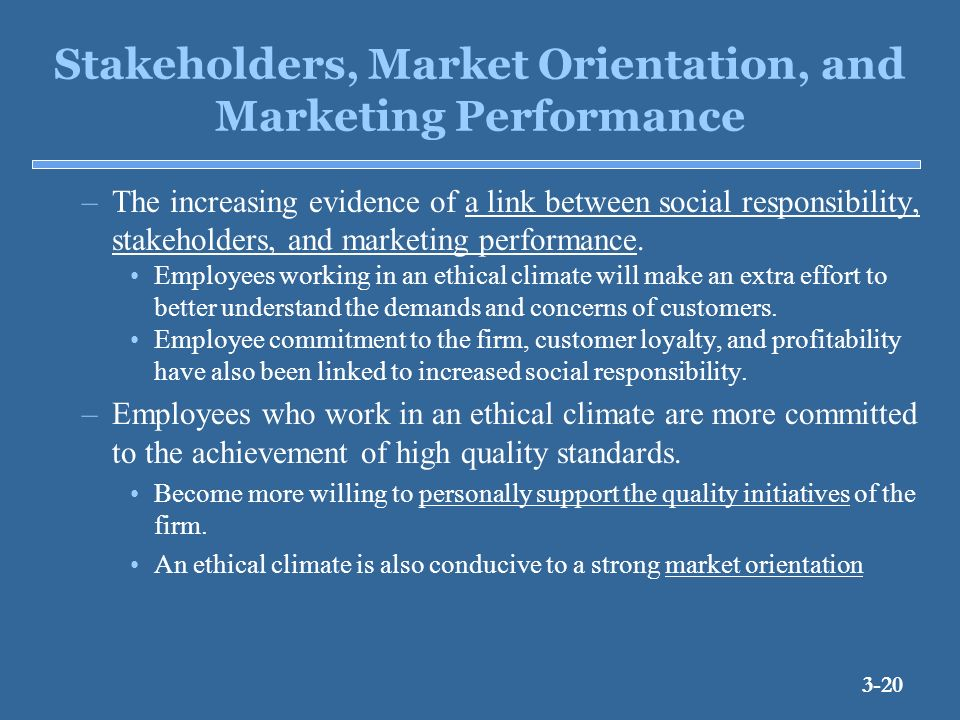 stakeholder marketing Stakeholders in marketing and finance this free course is available to start right now review the full course description and key learning outcomes and create an account and enrol if you want a free statement of participation.