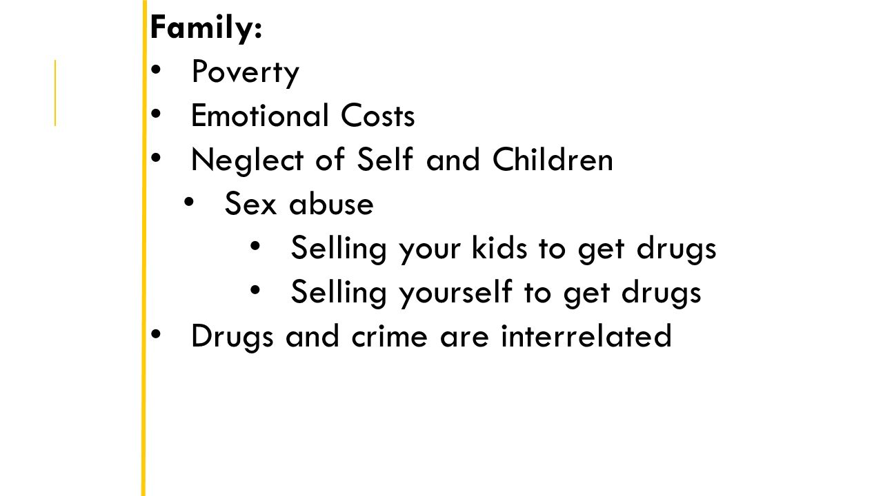 drugs and their impact on poverty