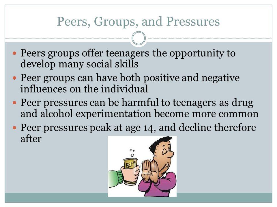 Peers, Groups, and Pressures