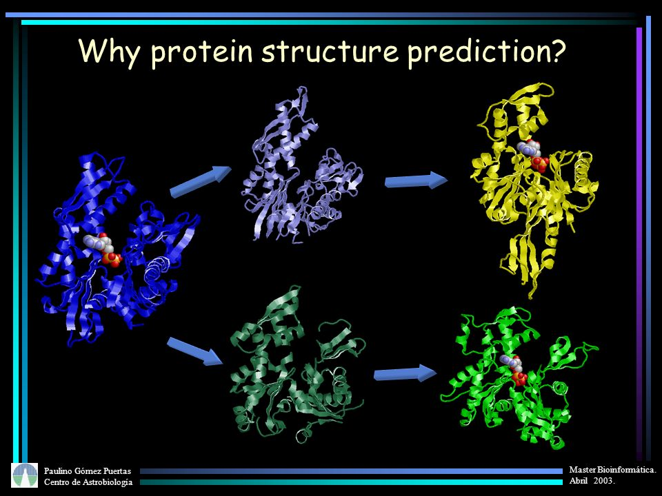 Why protein structure prediction