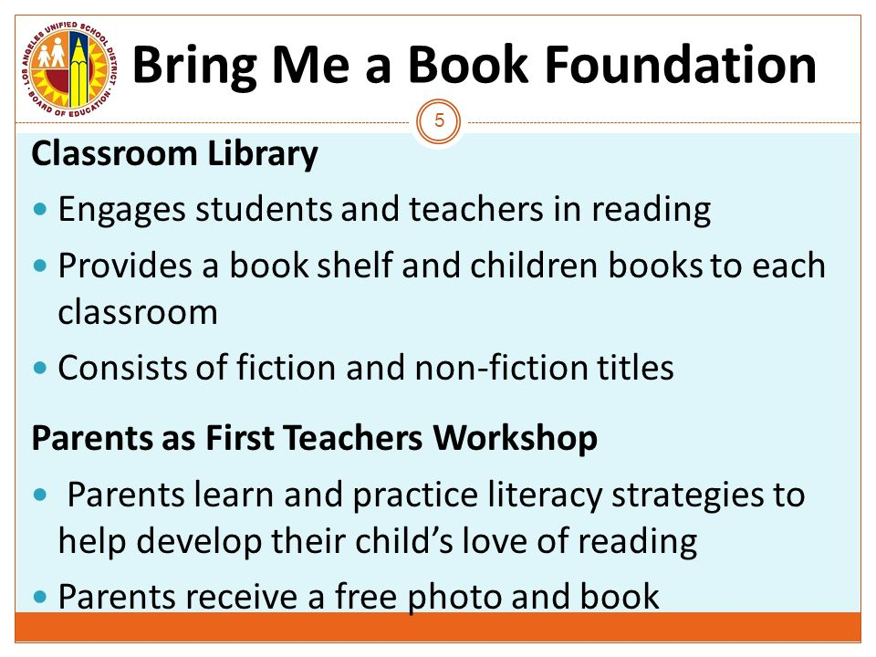 Bring Me a Book Foundation