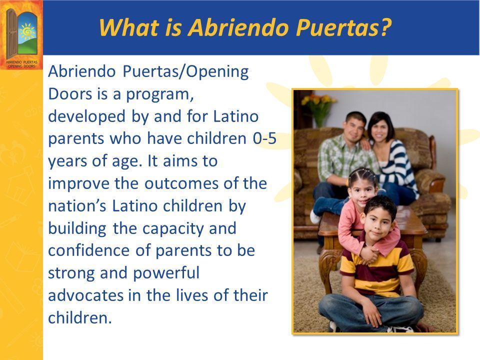 What is Abriendo Puertas