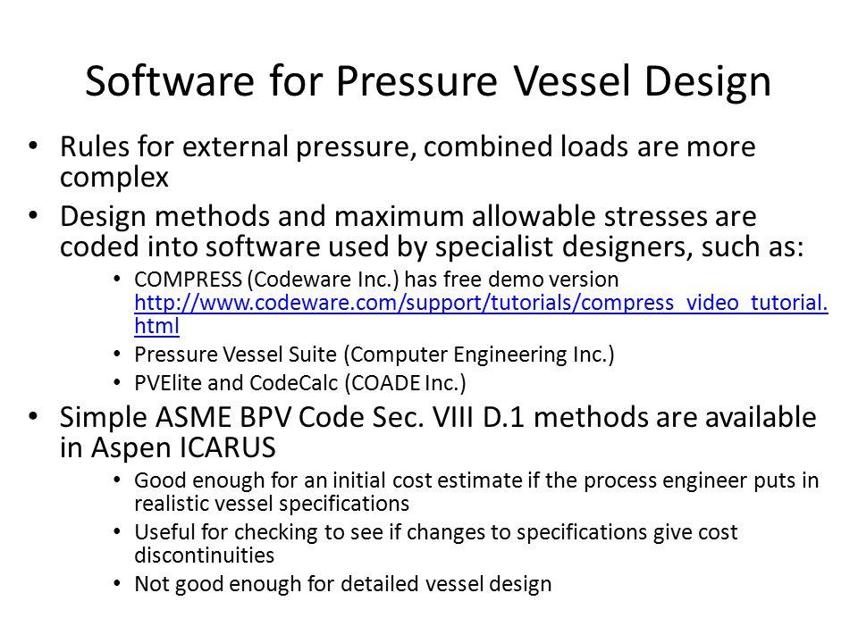 Compress Software For Pressure Vessel Design Free Download - pokerdagor