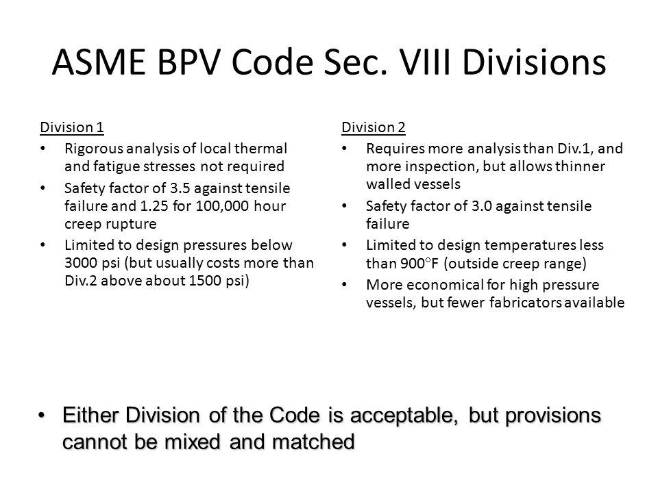Pressure vessel design ppt download - Asme sec viii div 2 ...