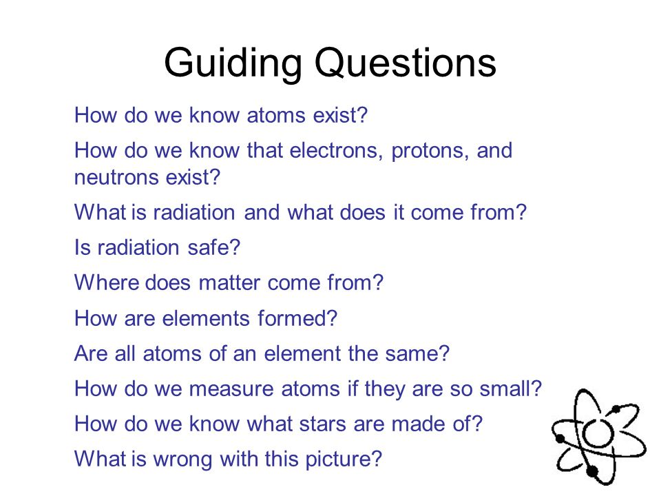 Atomic Structure Unit 3 Atoms And Molecules The Idea That
