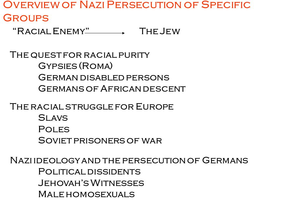 """a brief summary of the final solution and the treatment of jews in concentration camps The german ss systematically killed at least 960,000 of the 11-13 million jews final solution"""" camps dedicated to other concentration camps."""