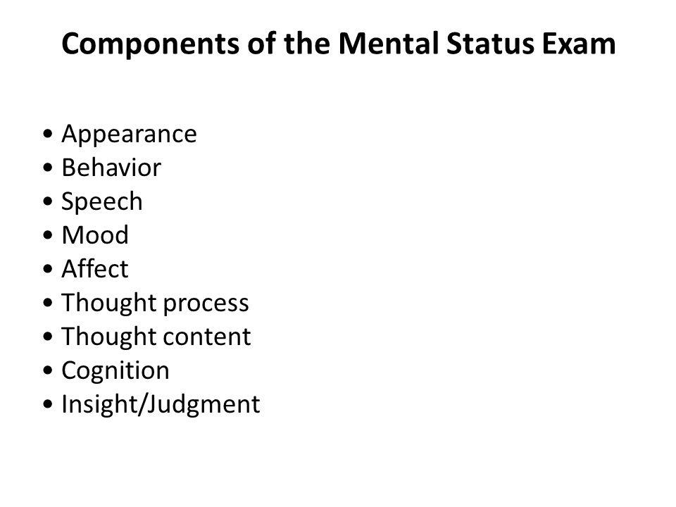 how to write a mental health exam for university