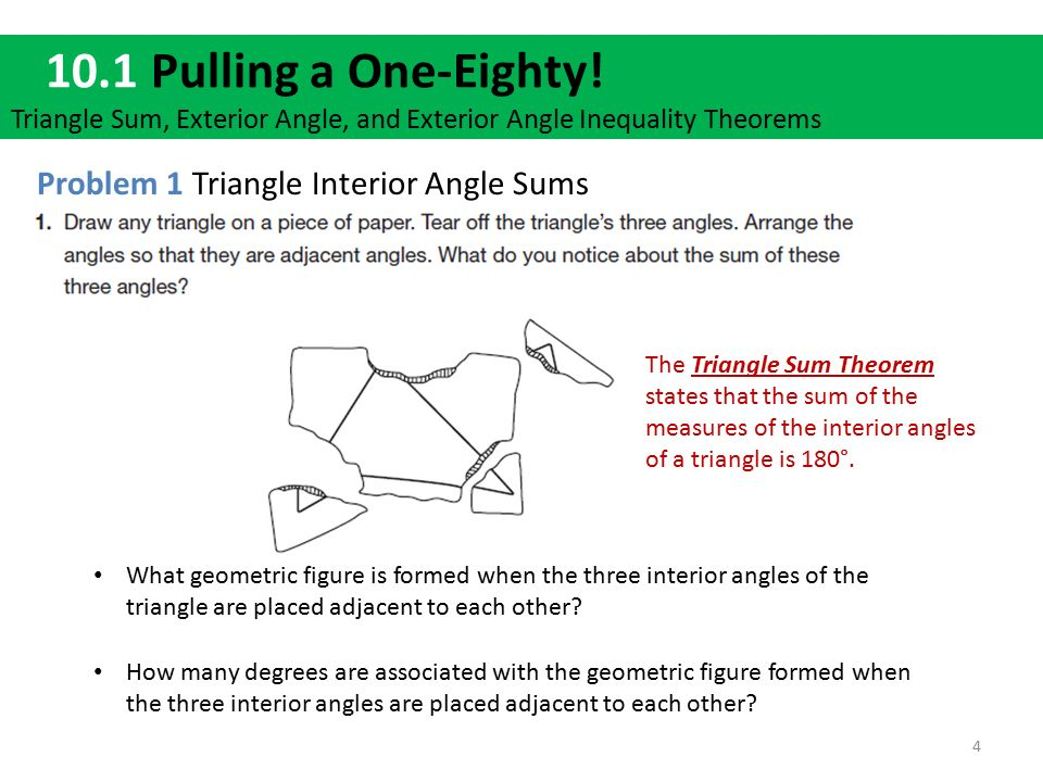 Warm up solve for x what theorem did you use to do question 1 ppt download What do exterior angles of a triangle add up to