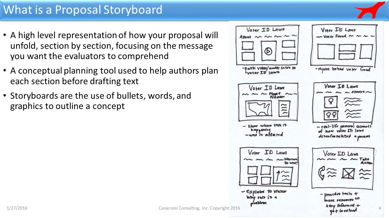 4 What Is A Proposal Storyboard