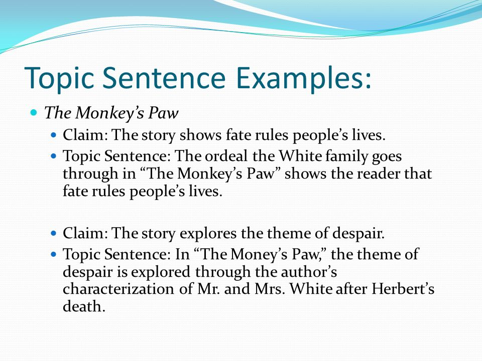 the monkeys paw suspense essay As 'the monkey's paw' was published in september, 1902, by the author, ww jacobs jacobs creates a sense of horror, suspense and tension very.