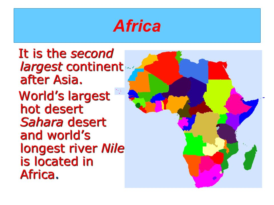 Continents MAESTRALIDIACOM Ppt Video Online Download - What is the biggest continent