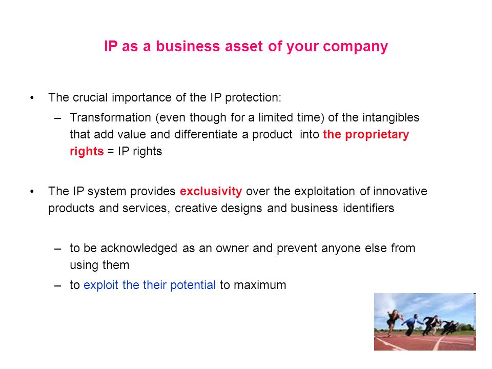 IP as a business asset of your company