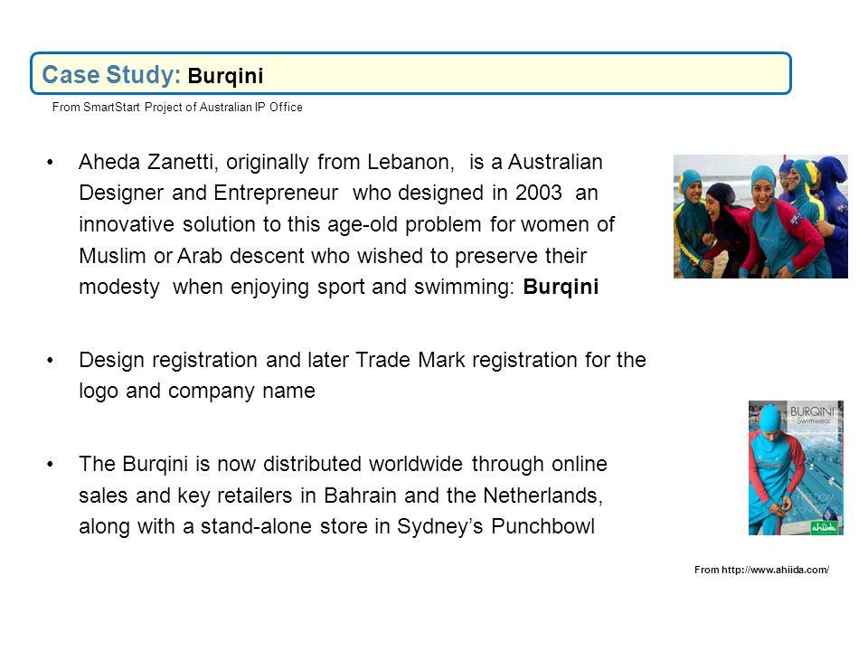 Case Study: Burqini From SmartStart Project of Australian IP Office