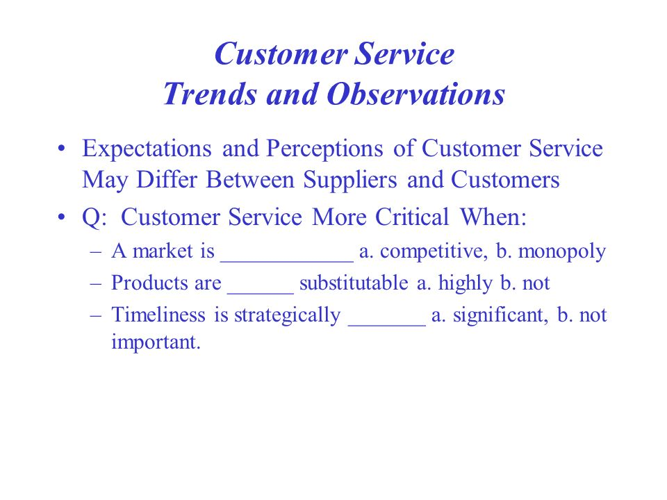 customer service report observation The possibilities for observation are almost limitlessñ people, behaviors, reactions, physical settings, environ- mental features, record keeping systems, project reports.