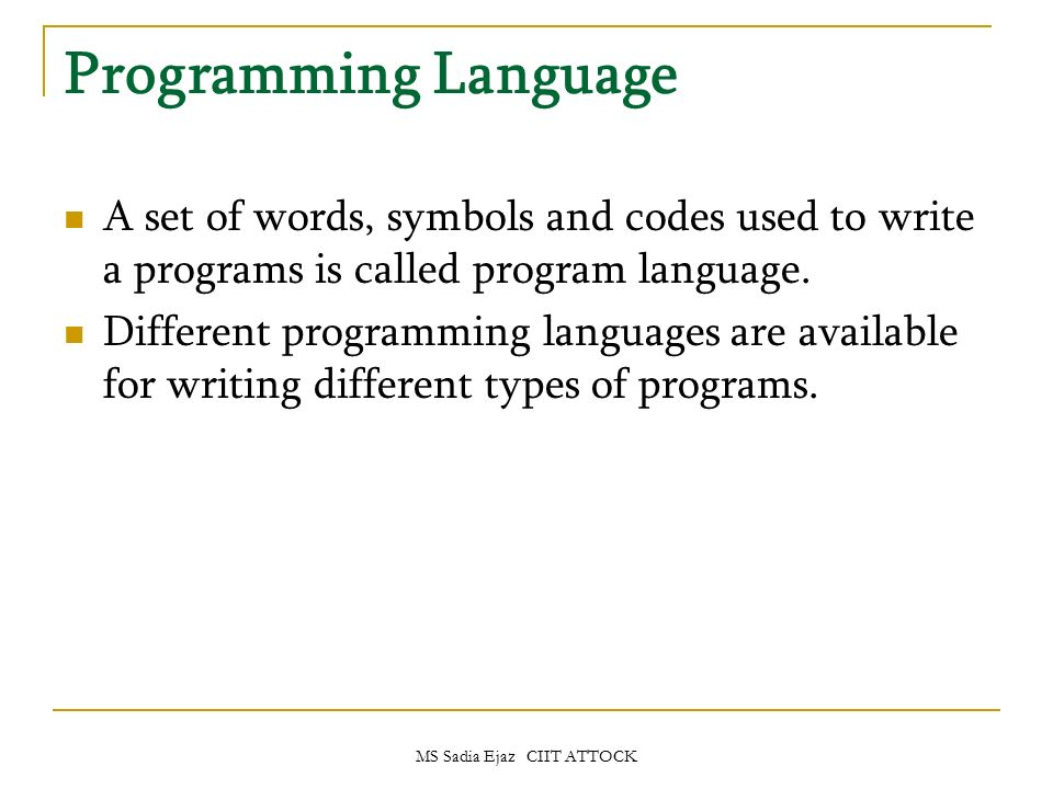 programming languages essay Past exam papers: concepts in programming languages solution notes are available for many past questions they were produced by question setters, primarily for the benefit of the examiners.