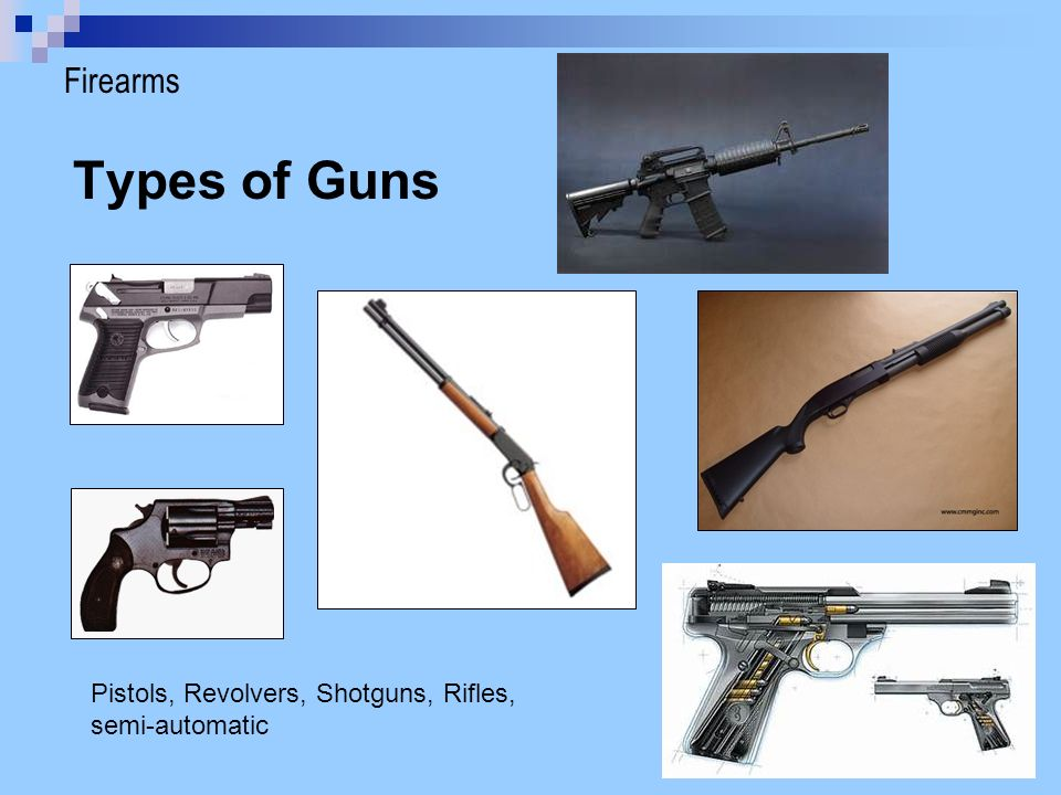 Firearms & Bullets. - ppt download