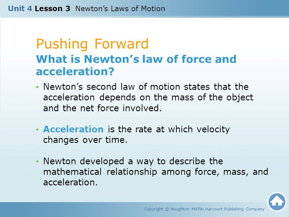 net force and acceleration relationship quotes