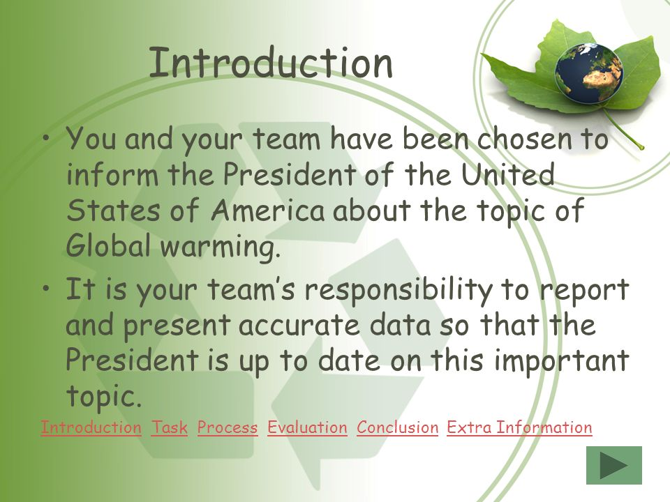 Result of global warming essay
