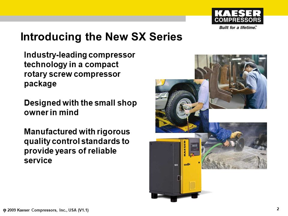 Introducing the New SX Series
