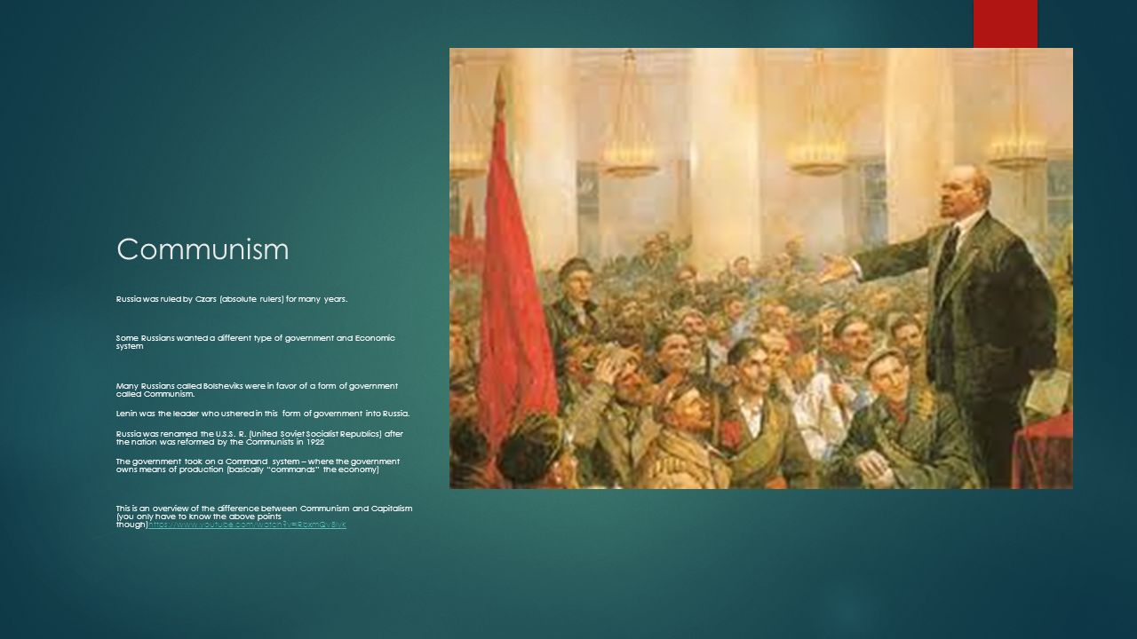 Ch Russia and the Republics - ppt download