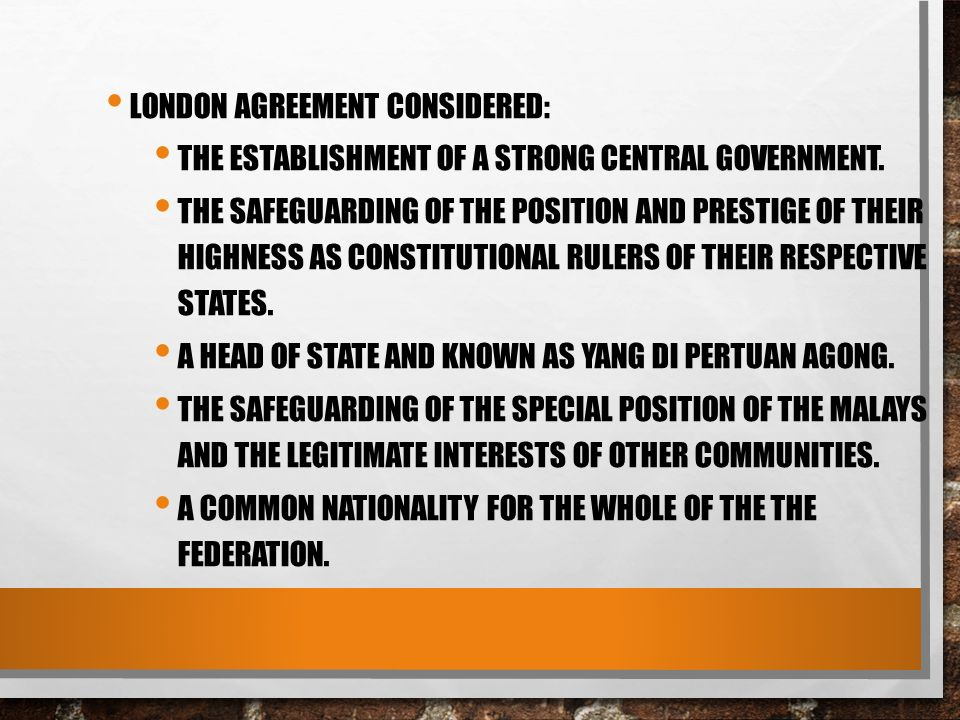 Chapter 4 federal constitution ppt download 21 london agreement considered platinumwayz