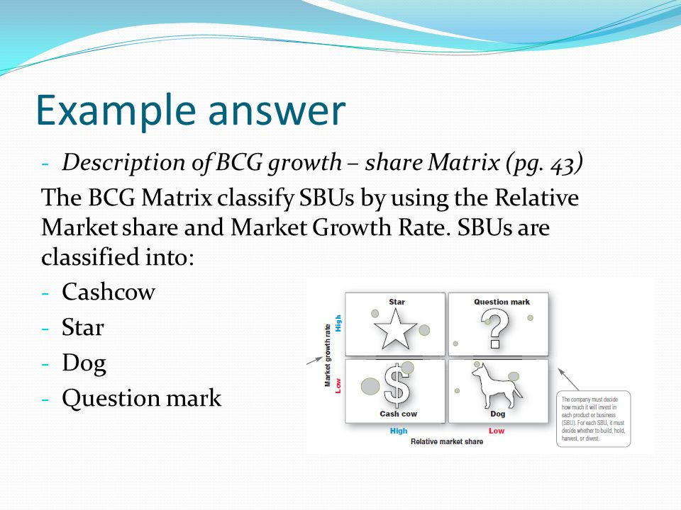 boston consulting group case study questions Case-interview questions probe how well candidates think on their feet and   interview and aspects of the case-study method used at many business schools   courtesy of josh kellar and the boston consulting group.