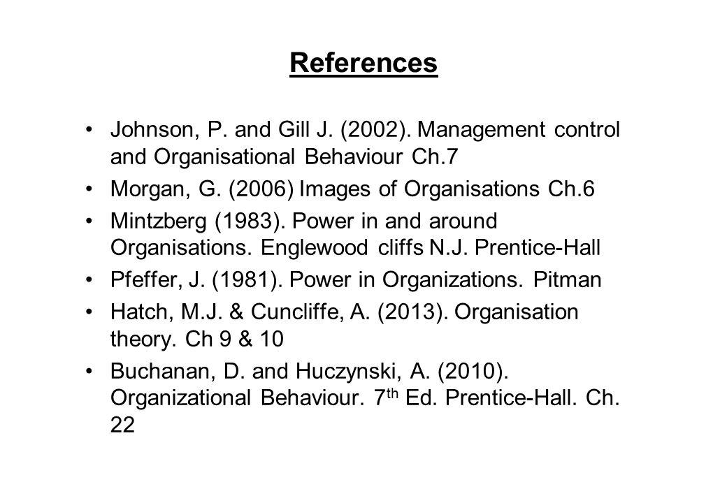 huczynski and buchanan organisation Summary: organizational behaviour summary of the book: 'organizational behaviour' (8th edition, same as 9th edition) - andrzej huczynski and david buchanan.