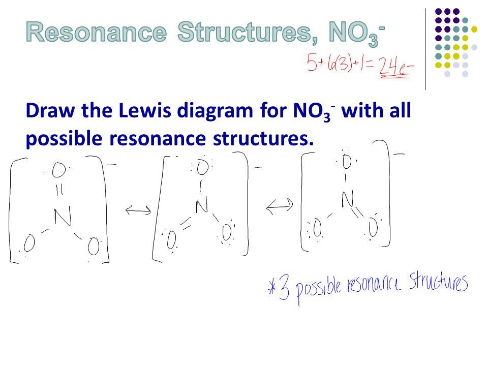 No  Lewis Structure Unit 7 – Bond...