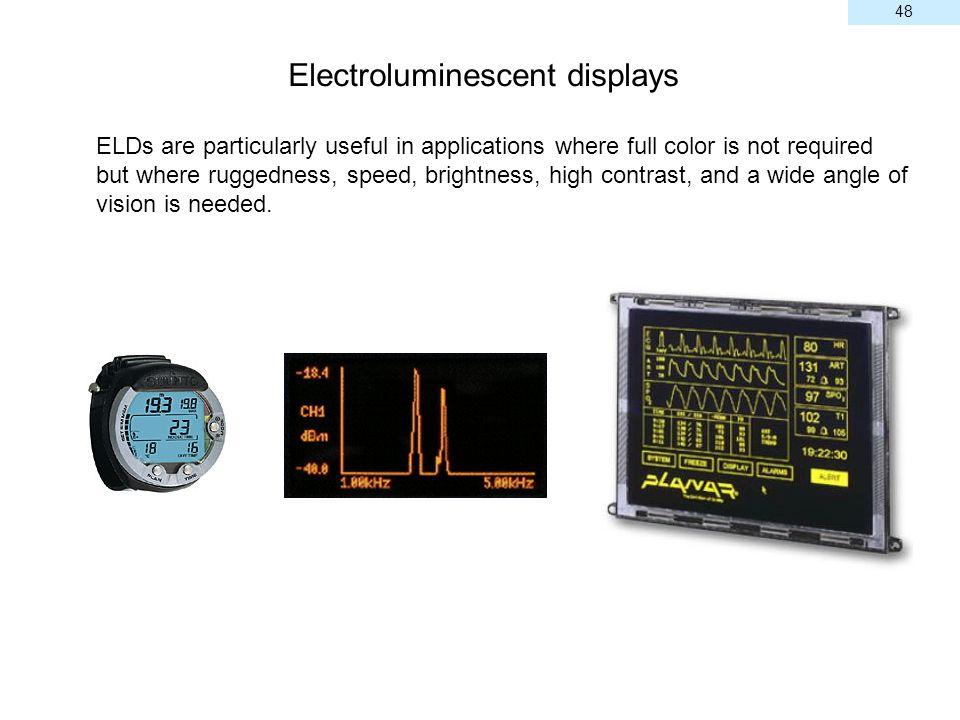 Electroluminescent displays