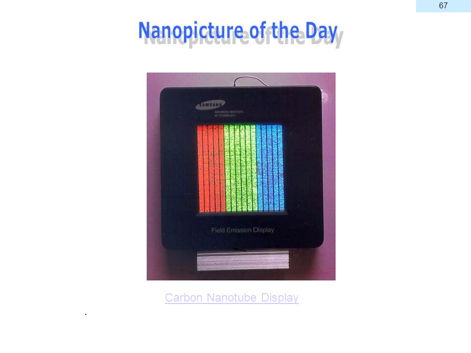 Carbon Nanotube Display