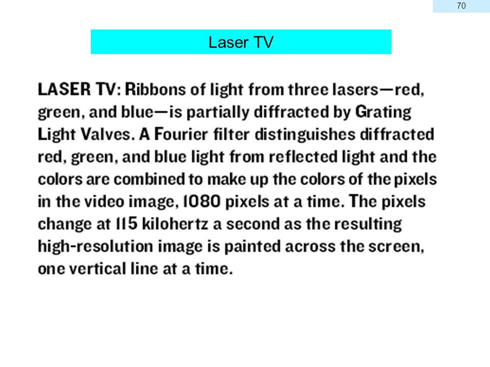 70 Laser TV 70
