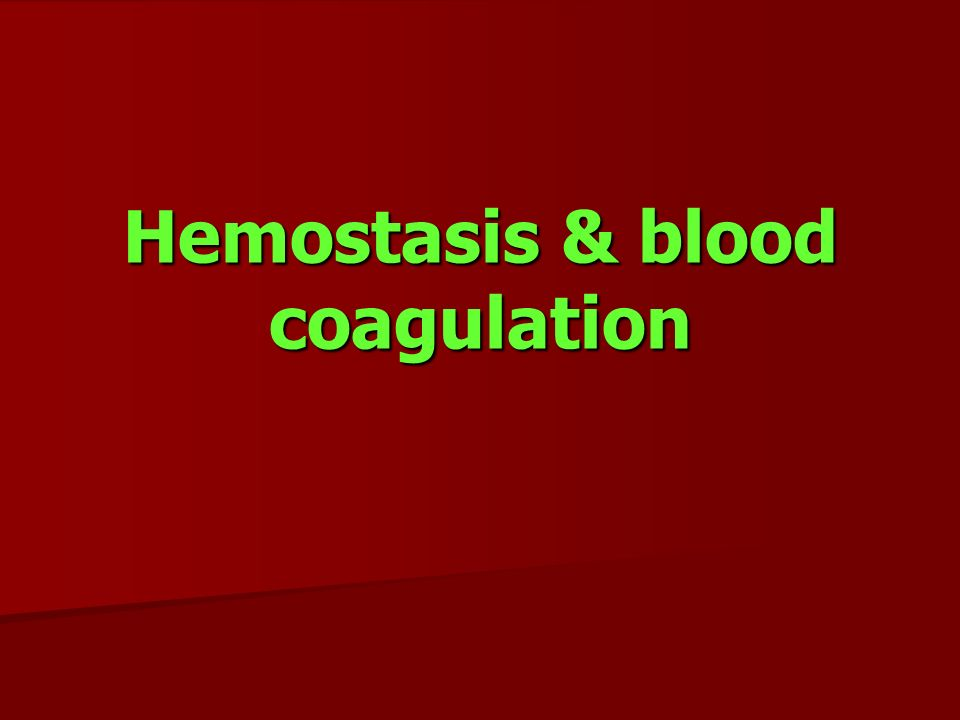 Primary and secondary hemostasis ppt video online download.