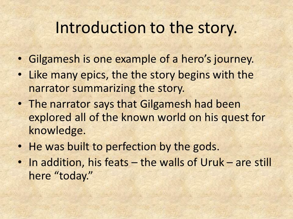 gilgameshs quest for immortality To the study and the development of the epic of gilgamesh, and whose insight  served  to illustrate the underlying motifs in gilgamesh's quest for immortality.