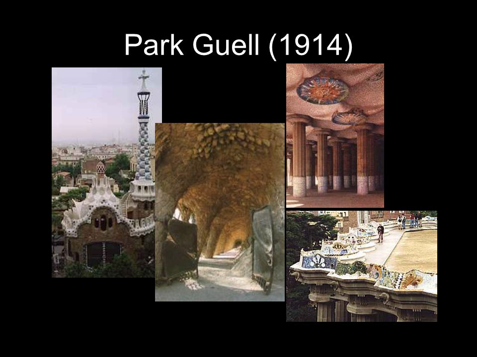 Park Guell (1914)
