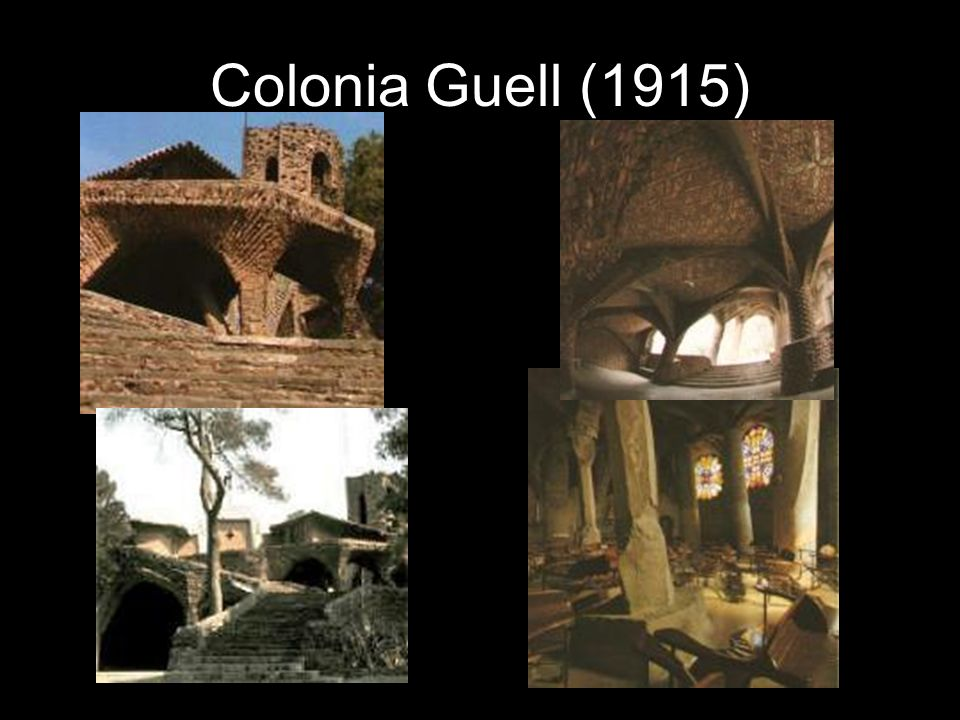 Colonia Guell (1915)