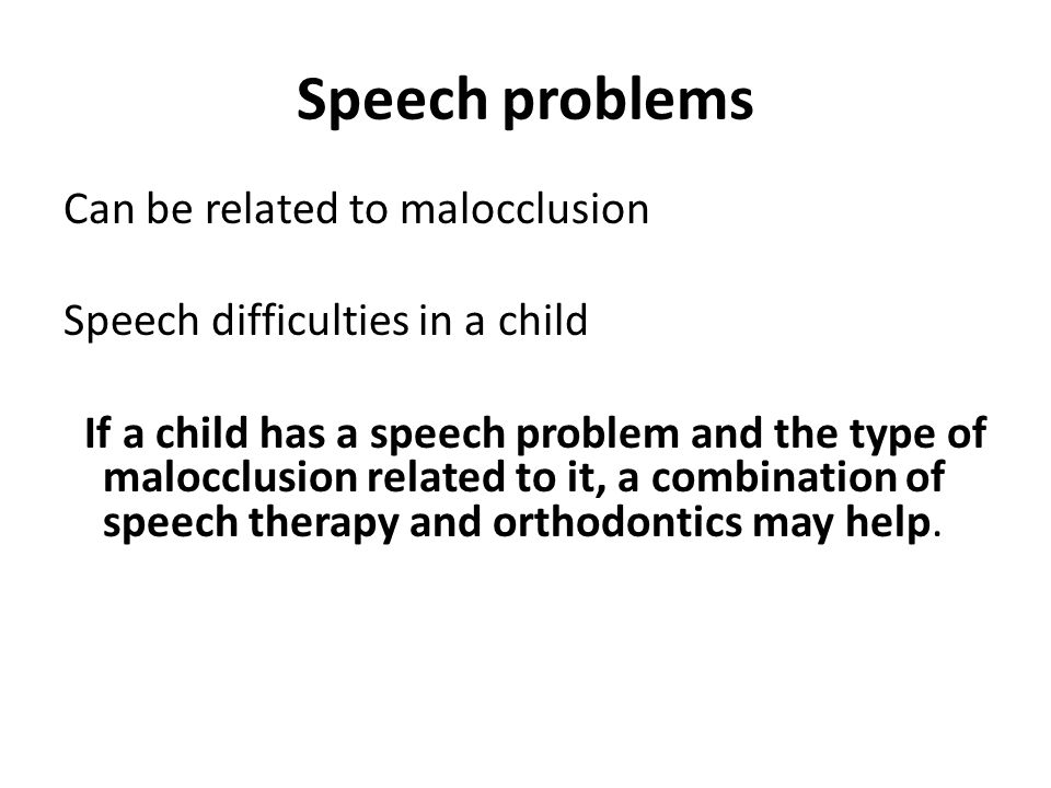how to help someone with speech problems