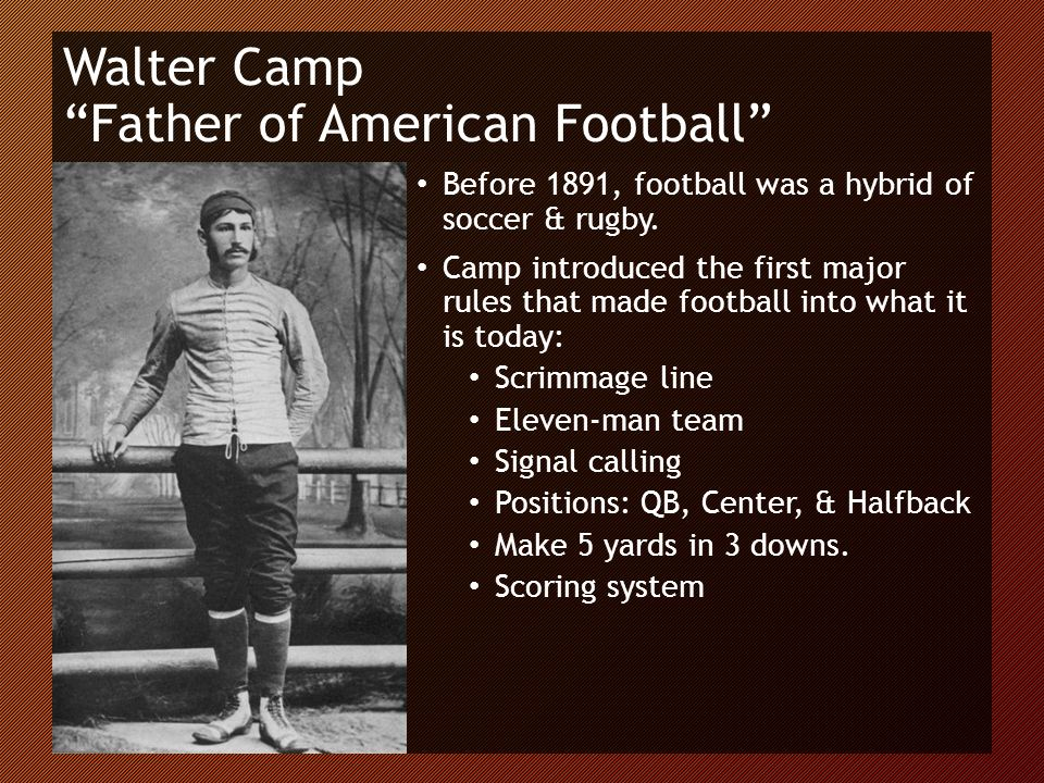 The History Of American Football Ppt Download