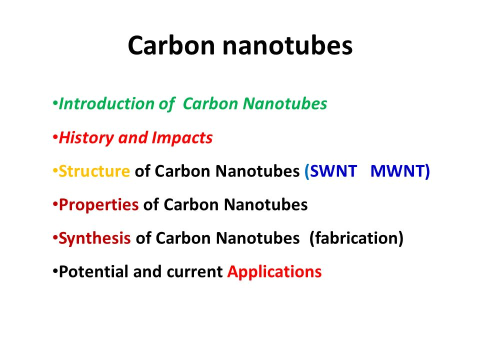 An introduction to the history of carbon