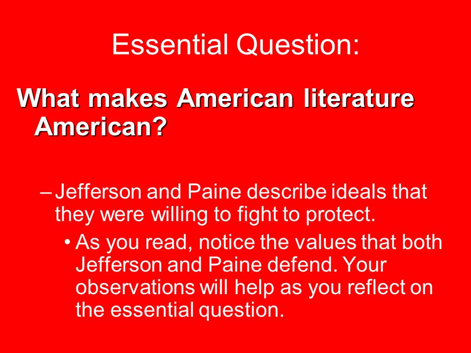 what makes an american an american essay Aa recovery, constitution.
