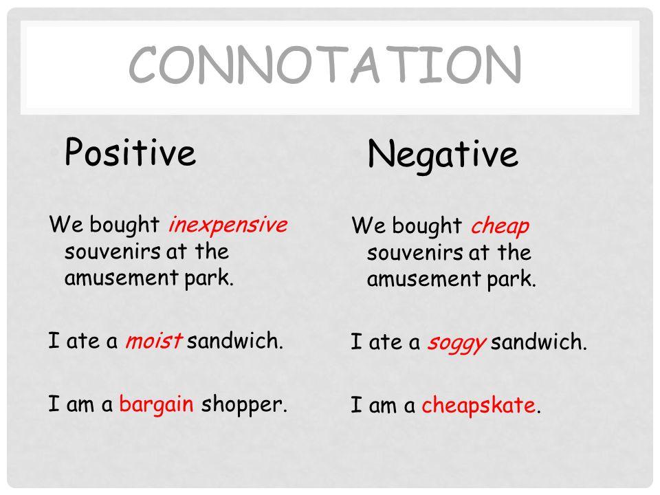 Denotation And Connotation Sutori