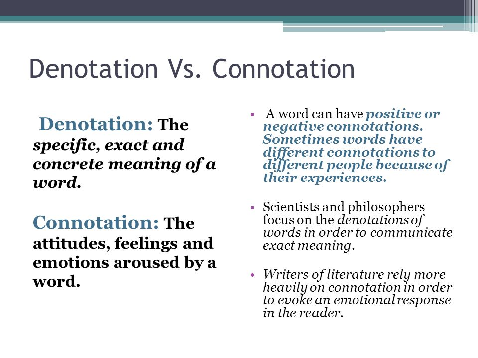 definition of connotation in literature