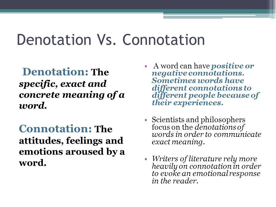 Connotation And Denotation Etamemibawa