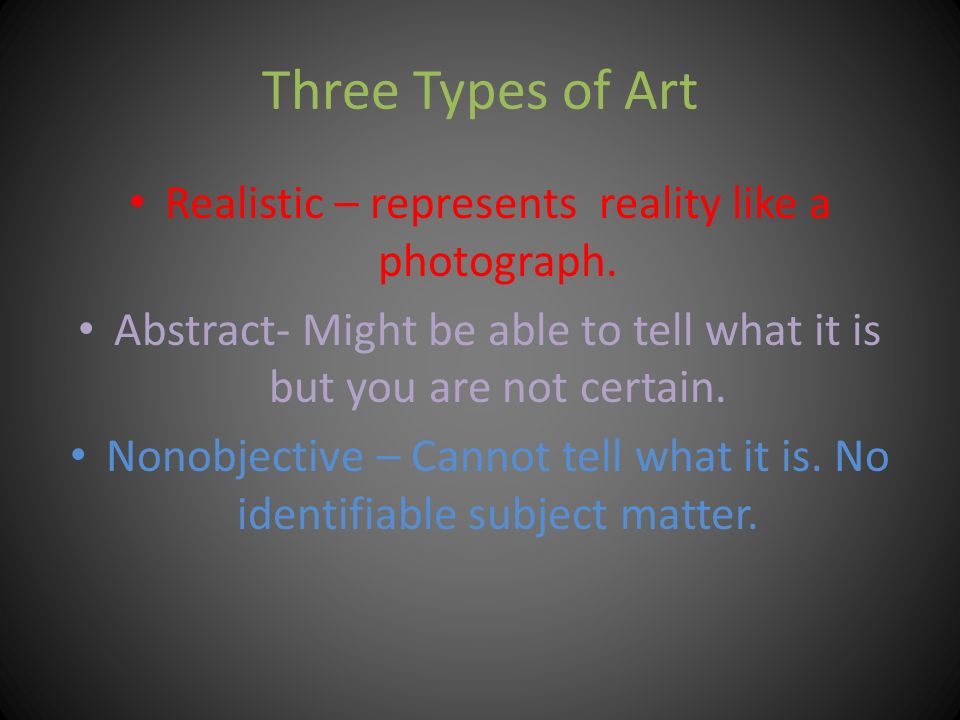 Extremely abstract art ppt video online download for Different types of abstract art