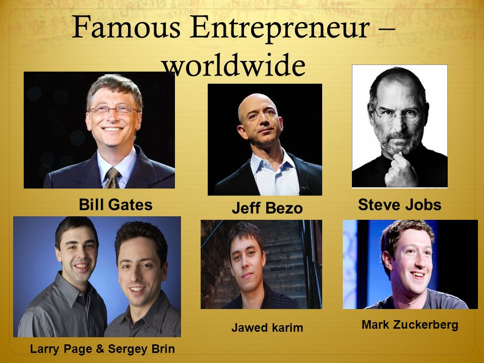 bill gates entrepreneur William gates the iii, the former ceo of microsoft, for short period of time, had  assets worth over 100 billion dollars, making him the world's first.