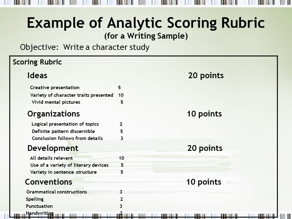 Special Topic / What's Wrong—and What's Right—with Rubrics