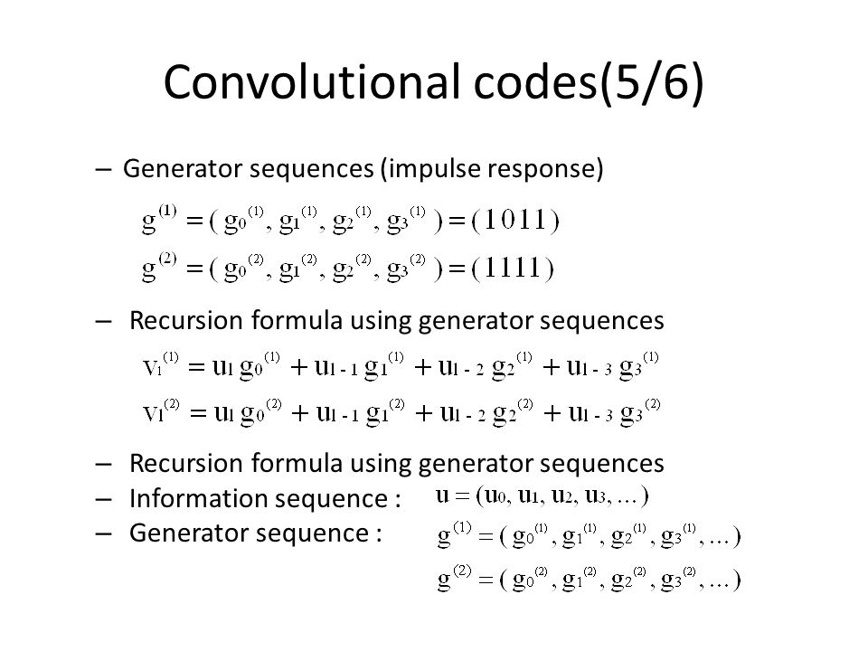 convolution codes and viterbi algorithm Fpga implementation of viterbi algorithm for decoding of convolution codes wwwiosrjournalsorg 48 | page.